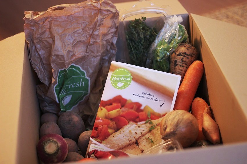 hellofresh food box