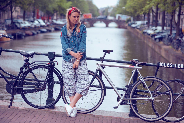 levis customized jacket fashion blogger