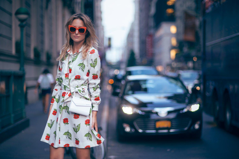 vintage dress fashion blogger