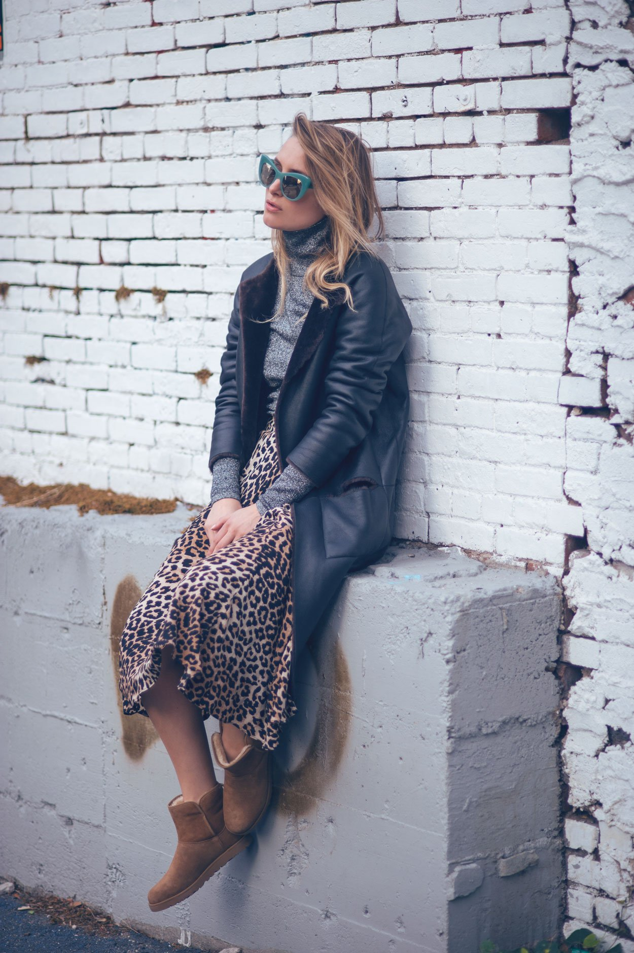 ugg boots fashion blogger