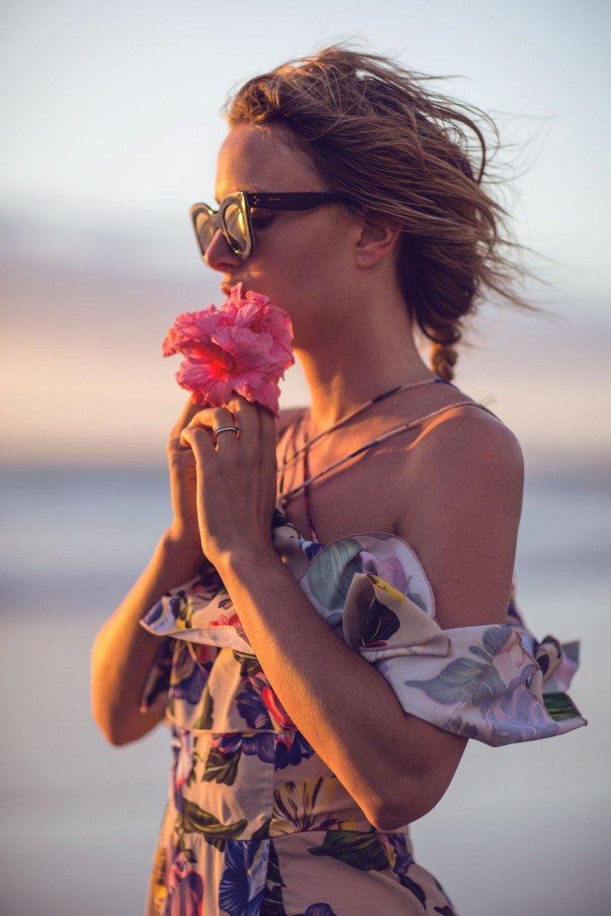 rebecca laurey floral dress
