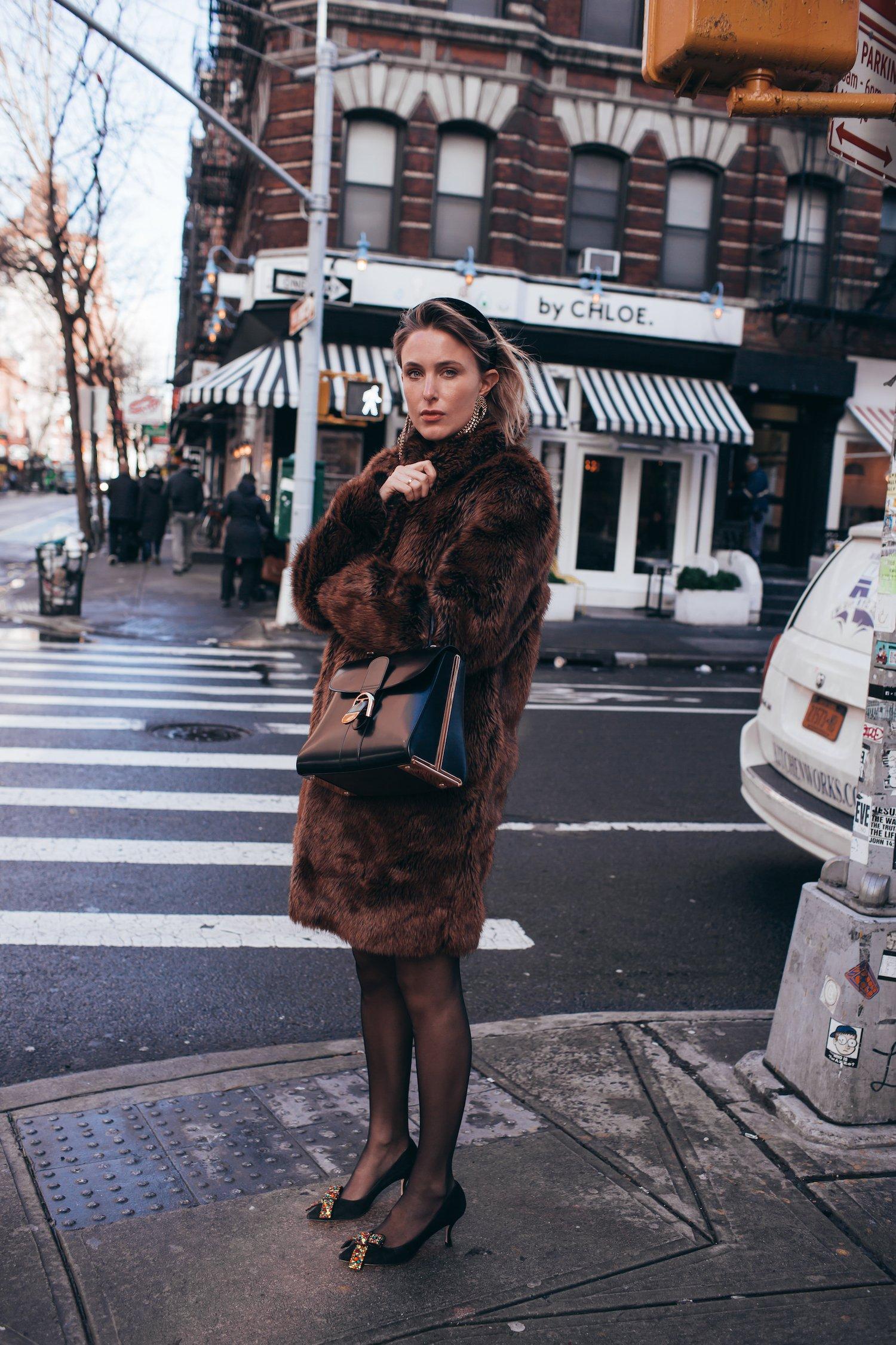 New York Christmas Street Style
