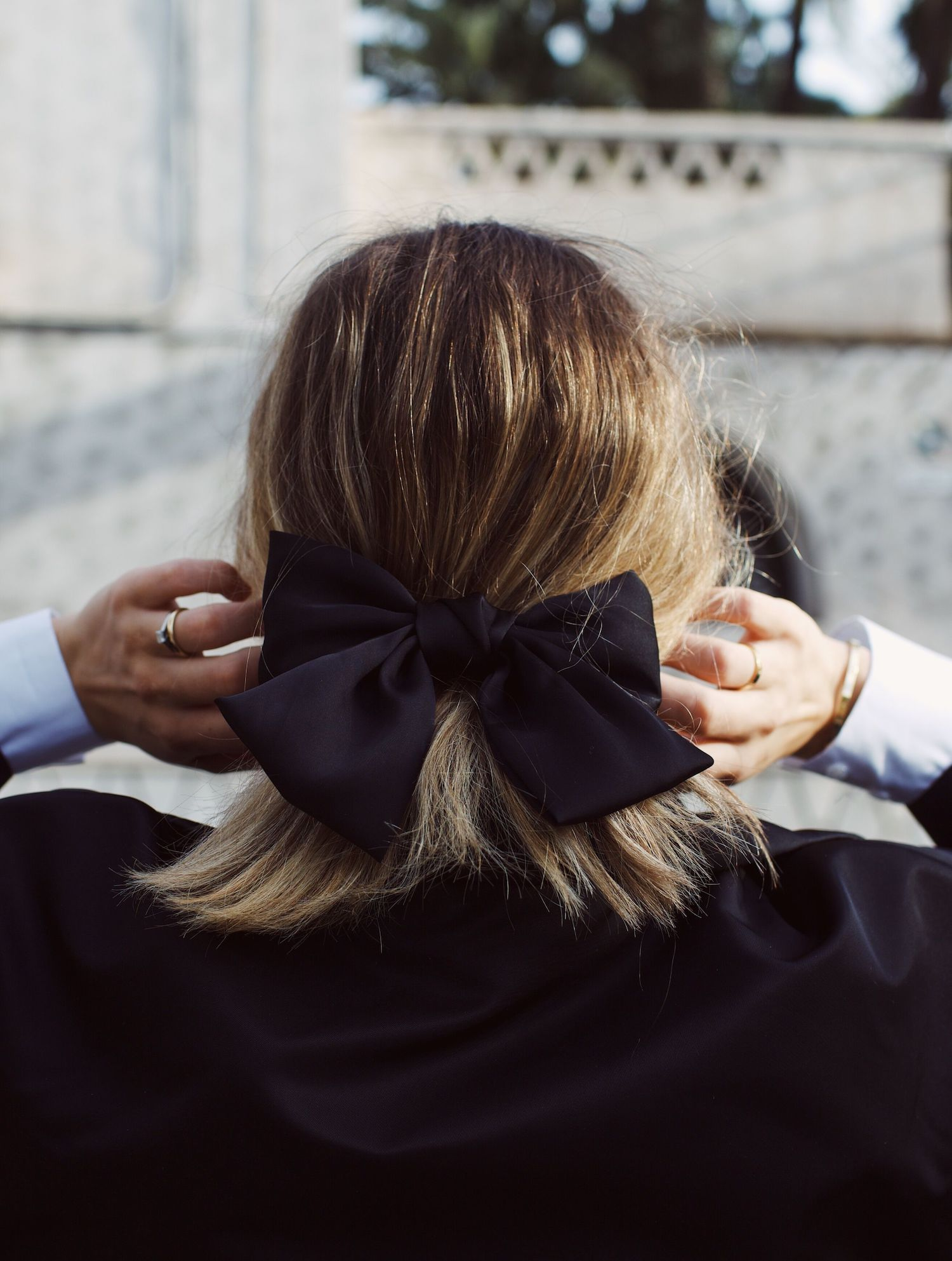 BOW TIE HAIR INSPIRATION