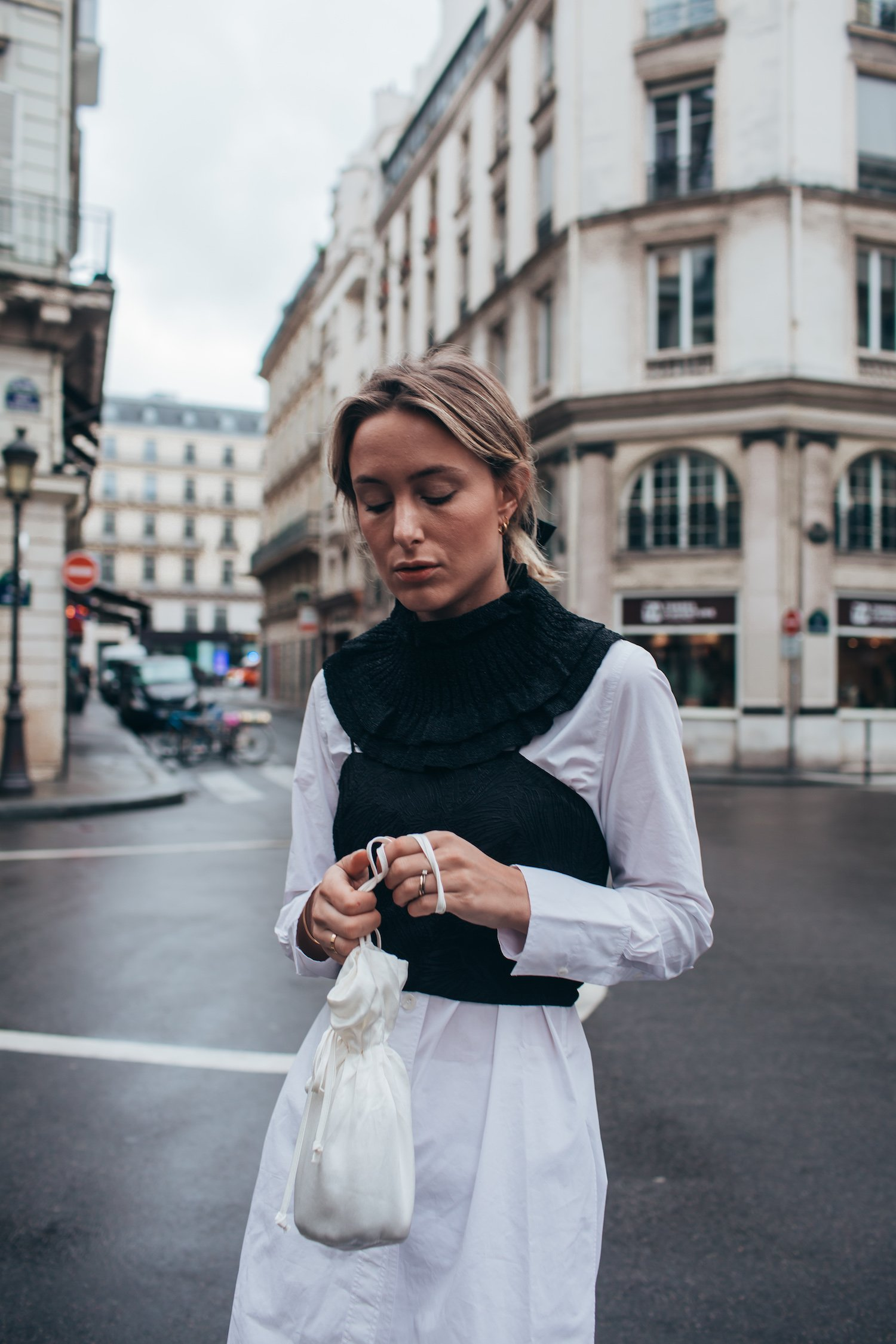 PARIS MONOCHROME DRESSING