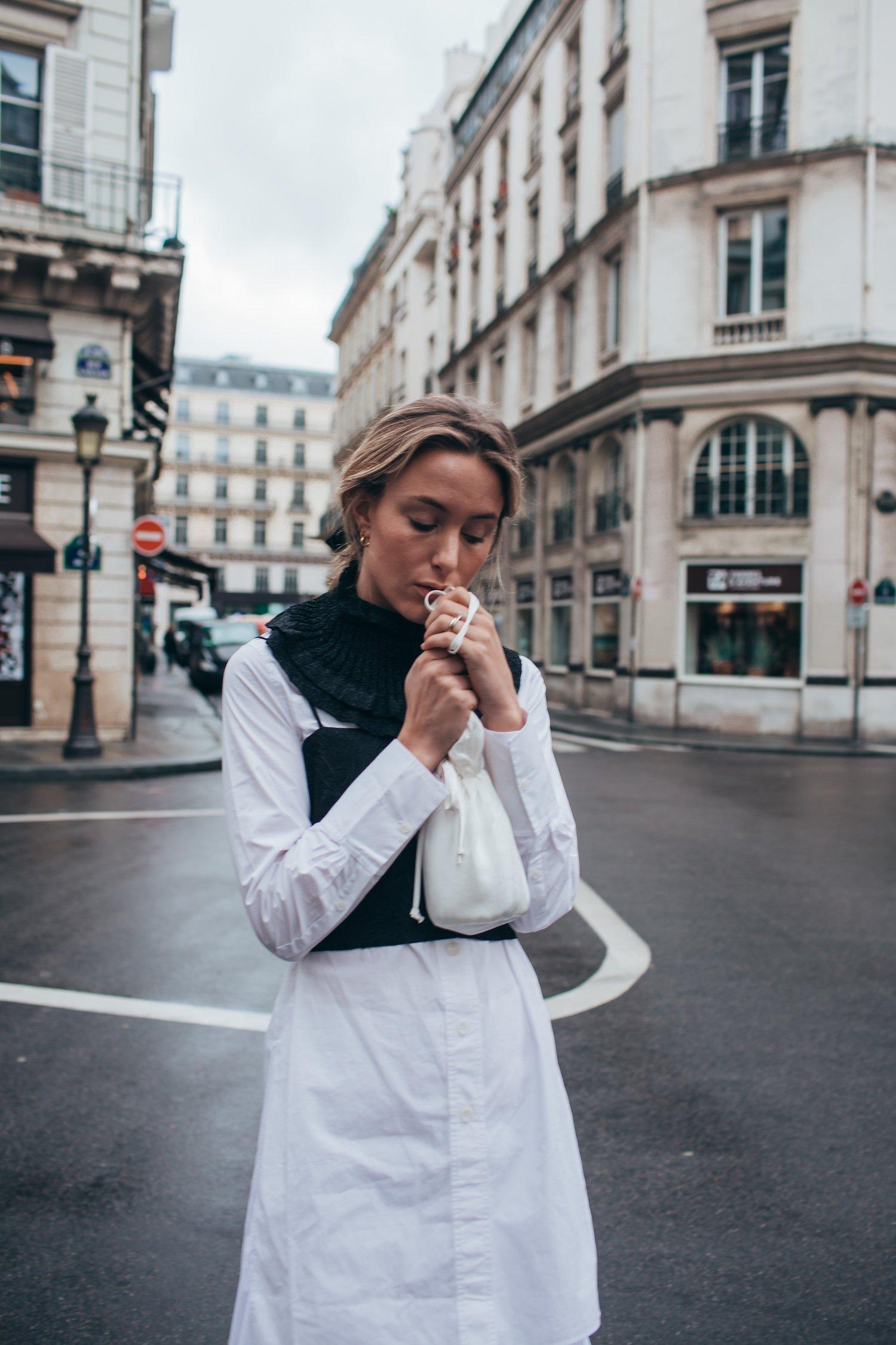PARIS MONOCHROME DRESS