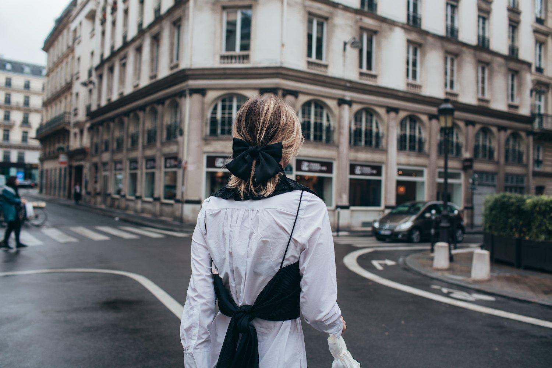 PARIS MONOCHROME DRESSING