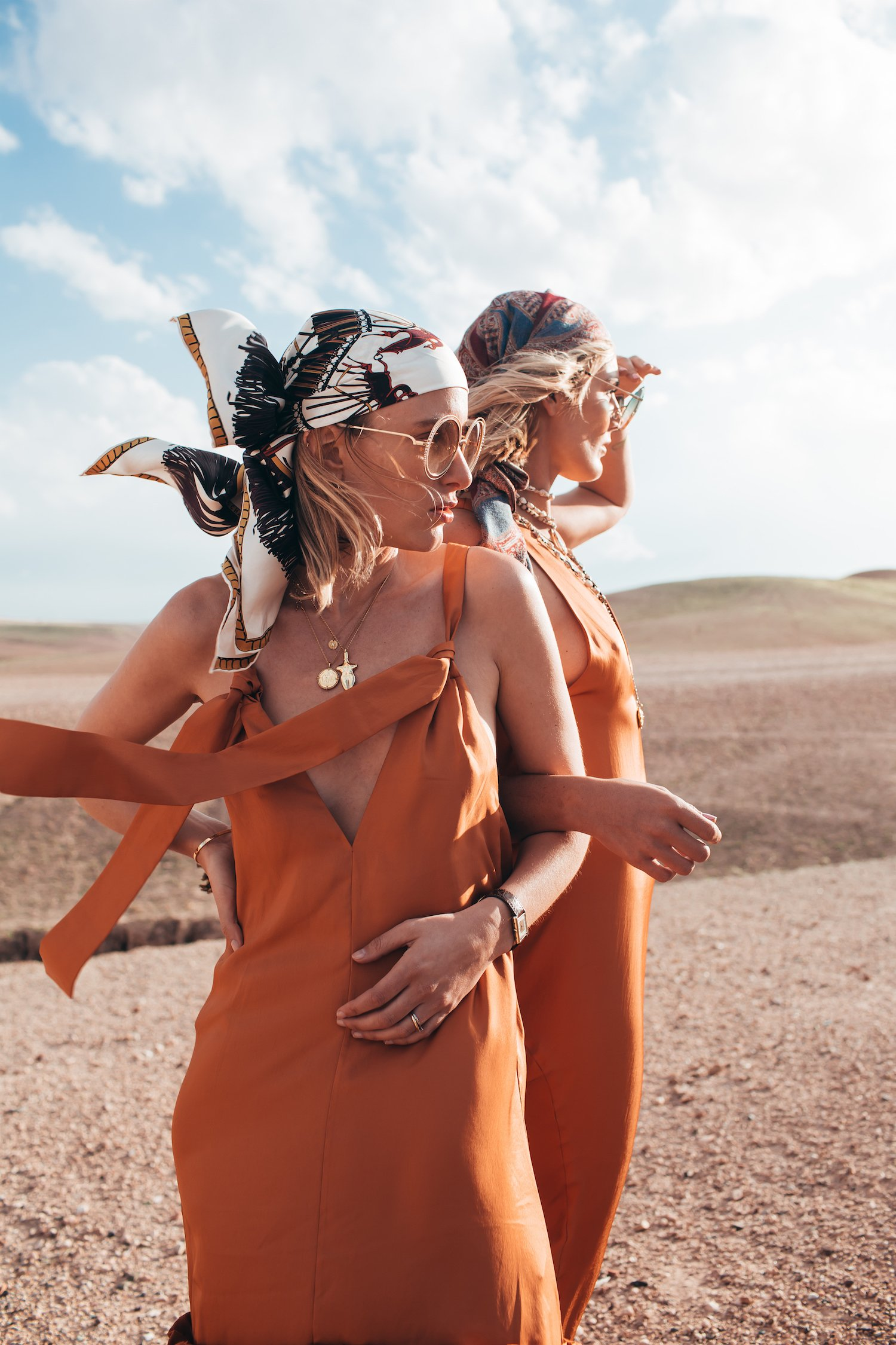 DESERT TIBI DRESS MOROCCO