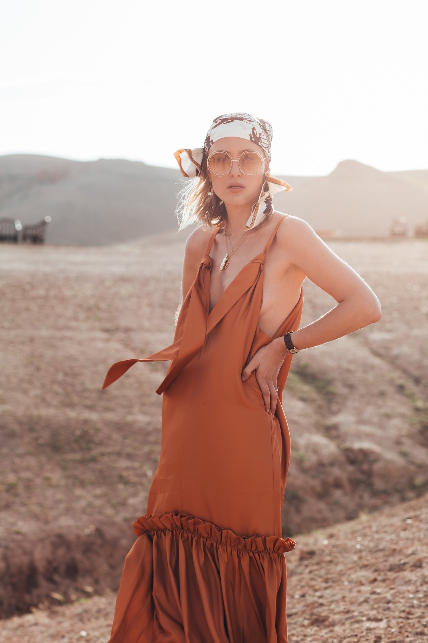 DESERT TIBI DRESS